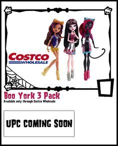 Boo York, Boo York-Monster High Checklist