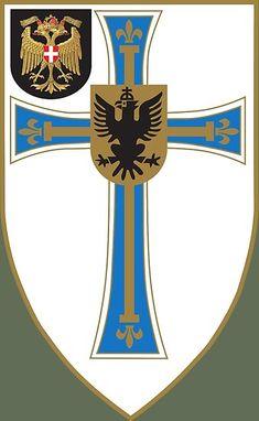Jägerbataillon Wien 1 Hoch- und Deutschmeister - Austrian Bundesheer Military Insignia, Kaiser, Austria, Patches, History, Stuff To Buy, Comic, Crests, Historia