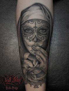 Tattoo (Genbu)   north-blood #tattoo #blackandgrey #chicano #chicanotattoo