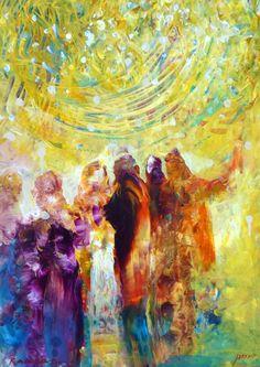 Paintings by Yoram Raanan