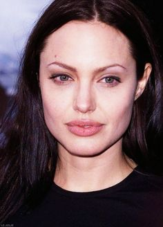 """ ON THIS DAY: June, 2001 Angelina Jolie attends the Los Angeles premiere of her new film, Lara Croft: Tomb Raider "" Angelina Jolie Quotes, Brad Pitt And Angelina Jolie, Long Straight Black Hair, Ugly Photos, Executive Woman, Beautiful Female Celebrities, All In The Family, Lara Croft, Powerful Women"