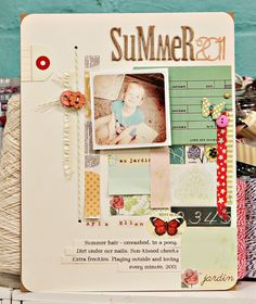 A Project by {Jen Jockisch} from our Scrapbooking Gallery originally submitted 08/01/11 at 10:07 AM