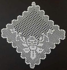 Thread Crochet, Crochet Doilies, Crochet Borders, Crochet Patterns, Fillet Crochet, Crochet Projects, Tatting, Projects To Try, Shabby
