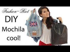 DIY Cómo hacer un bolso Mochila tipo étnico :D - YouTube