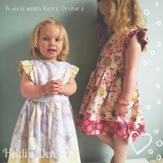 Created for Heidi's Den using the stunning Dashwood Studio: Prairie and Retro Orchard fabric ranges. Available now at www.heidisden.co.uk