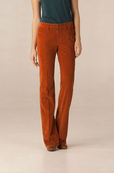 burnt orange cords.  definitely not worth 500 dollars but love that color and cut.