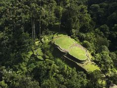"Just over 35 years ago, Ciudad Perdida, the ""lost city,"" was—like much of Colombia—undiscovered and off-limits for travel. This spectacular archaeological site in northern Colombia had disappeared into inaccessible wilderness populated by violent militia and drug traffickers. Now the cleared mountaintop terraces (above) shine like a green grassy beacon declaring the country's rebirth as a travel destination at the crossroads of the Caribbean and South America."