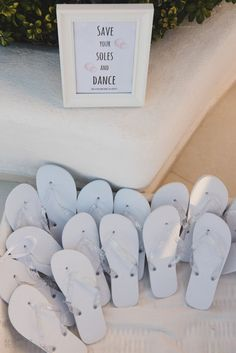 Carly and James's beach themed Santorini wedding by The Bridal Consultant