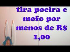 Móveis limpos e blindados contra POEIRA E MOFO! Misturinha mágica - Custa menos de $1,00 - YouTube