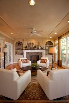 27 Unbelievable Family Room Decorating Ideas. Living Room Fire Place IdeasDecor  Home ...