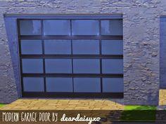 My Sims 4 Blog: Garage Door Wallpaper by DearDaisySims