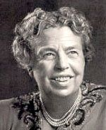 Eleanor Roosevelt is best known for her work in helping make the Universal Declaration of Human Rights accepted by the United Nations. She served in the Red Cross.  Began her public life working for a number of women's groups.