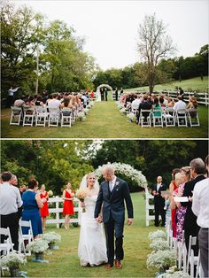 Cedarwood Weddings - use of baby's breath again.