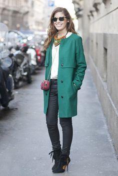 Milan Fashion Week Street Style — Fall 2012