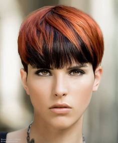 Pixie cut with bangs and a very short nape. Pixie cut with bangs and a very short nape. Pixie Cut With Bangs, Short Hair With Bangs, Short Hair Cuts, Short Hair Styles, Pixie Cuts, Short Pixie Haircuts, Short Hairstyles For Women, Cool Hairstyles, Short Wedge Hairstyles