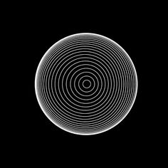 gif noir et blancs hypnotiques gif psychedelic hypnosis animation 01 black and white hypnotic gifs # 2 Op Art, Cool Animated Gifs, Interaktives Design, Trippy Gif, Images Gif, Gif Pictures, Illusion Gif, Motion Design, Optical Illusions