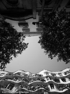 Gaudi in Barcelona Straight Up La Pedrera, Antoni Gaudi, Birds Eye View, New Perspective, Barcelona Spain, Study Abroad, Architecture, World, Places