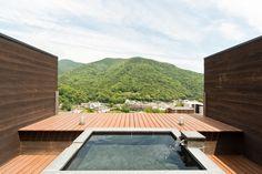 屋上貸切露天風呂 Onsen Aura Tachibana
