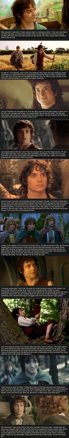 Relatively Unknown LoTR Facts - Frodo