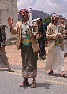 A Gun is an accessory in Yemen