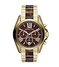 Product: Michael Kors® Gold/Tortoise Bradshaw Watch