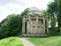 MAPPED:  Stourhead Garden, Warminster, Wiltshire, England, UK  ***Mr. Darcy proposed here