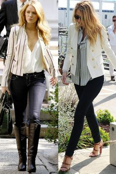 Blake Lively Style Casual, Mode Blake Lively, Blake Lively Outfits, Blake Lively Dress, Blake Lively Gossip Girl, Blake Lively Fashion, Blake Lively Street Style, Mode Gossip Girl, Estilo Gossip Girl
