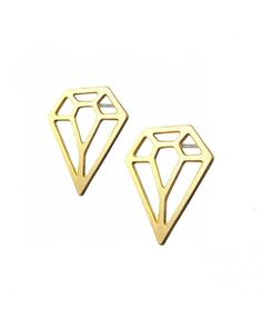 The Diamond Post Earrings by JewelMint.com, $29.99