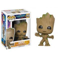Funko Pop! Groot 202, Guardians of the Galaxy, Guardiões da Galáxia, Marvel, Funkomania, Quadrinhos
