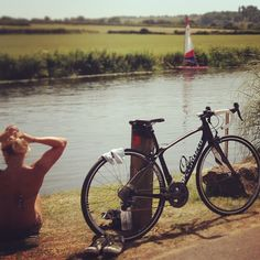 Wicked bike ride today, nice river dip half way round. @emmalearogers @iamspecialized #hottestdayoftheyear #lovingmyspecializedbike #Padgram