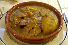 Adafina, exquisita receta judía - Recetín Comida Kosher, Beef Recipes, Cooking Recipes, Pot Roast, Nom Nom, Curry, Food And Drink, Dishes, Chicken