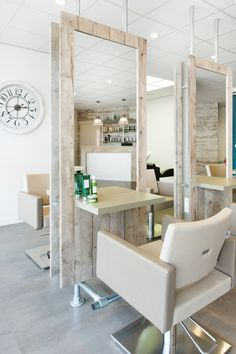 home hair salons ideas - home hair salons ; home hair salons small ; home hair salons garage ; home hair salons basement ; home hair salons shed ; home hair salons ideas ; home hair salons setup ; home hair salons room Home Hair Salons, Hair Salon Interior, Salon Interior Design, Home Interior, In Home Salon, Beauty Salon Decor, Beauty Salon Design, Small Beauty Salon Ideas, Home Beauty Salon