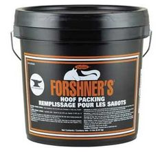 FORSHNERS HOOF PACKING 14 LB PAIL