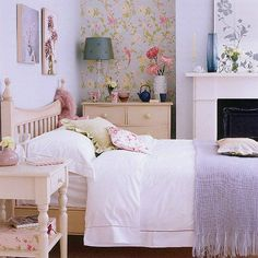 Decoration, Simple Bedroom Decorating Ideas Flower Metal Wall Decor Spring Decor Ideas: Beautiful Floral Accents Wall Spring Decorations for The Home