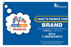 Unicom Advertising is a digital marketing agency in North India, we provide online advertising, content marketing, social media, digital advertising services. Advertising Services, Online Advertising, Digital Marketing Services, Email Marketing, Content Marketing, Internet Marketing, Social Media Branding, Search Engine Optimization, Online Marketing