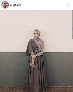 prom dress hijab Ideas Party Dress Diy Women For 2019 Hijab Prom Dress, Muslimah Wedding Dress, Hijab Evening Dress, Hijab Style Dress, Hijab Wedding Dresses, Dress Outfits, Dress Muslim Modern, Kebaya Modern Dress, Kebaya Dress