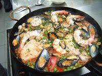 Platos Latinos, Blog de Recetas, Receta de Cocina Tipica, Comida Tipica, Postres Latinos: Paella Argentina - Receta Tipica Argentina - Argentina Food