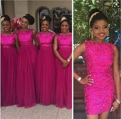 Hot Sale Fuchsia Sequined Overskirt Bridesmaid Dresses 2016 Plus Size Detachable Train Maid Of Honor Wedding Party Gowns For Arabic Women Bridesmaid Short Dresses Bridesmaids Dresses With Sleeves From Whiteone, $95.82| Dhgate.Com