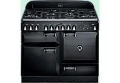 Rangemaster ELAS110DFFBL Elan Range Cooker 110cm Dual Fuel Gloss Black Was £2,199.00 | Now £1,949.00 http://tidd.ly/f712aa58