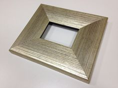 WIDE unique wooden Polished SILVER frame for ACEO by AceoFrames, $11.99