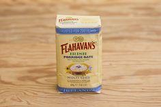 Multiseed Porridge von Flahavans. Kombination von Haferflocken, Sonnenblumenkernen, Leinsamen und Kürbiskernen; gesund und schmackhaft