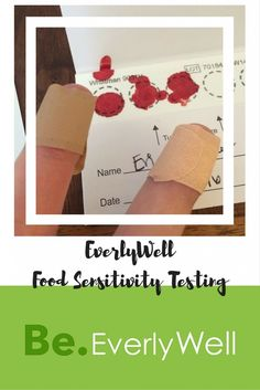 EverlyWell Food Sensitivity Test Sponsored Review