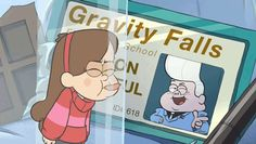 Or even worse: have a run-in with your nemesis? | 17 Gravity Falls GIFs To Brighten Up Your Day