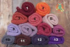 Newborn Stretch Knit Wraps!
