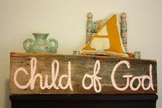 i am a child of God. :)