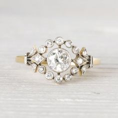 .50 Carat Antique Victorian Diamond & Gold Engagement Ring   New York Vintage & Antique Engagement Rings and Jewelry – Erstwhile Jewelry Co NY
