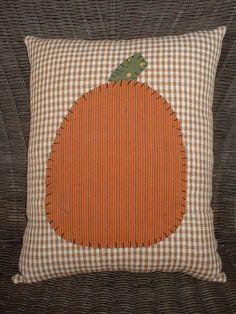 Country Pumpkin Pillow