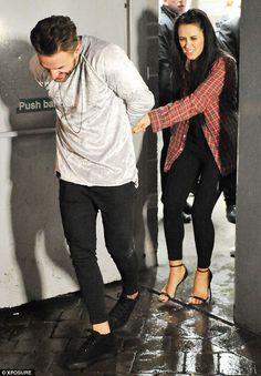 Moving on: Marnie left the club hand-in-hand with Aaron Chalmers. Charlotte Crosby, Geordie Shore, Party Scene, Don Juan, Fashion Night, Marni, Leotards, Night Out, Going Out