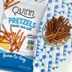 Gluten-free, non-GMO pretzels made with sorghum flour Real Food Recipes, Snack Recipes, Snacks, Gluten Free Pretzels, Sorghum Flour, Microwave Popcorn, Gluten Intolerance, Pop Tarts, Tasty