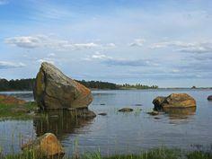 Finnish sea at summer
